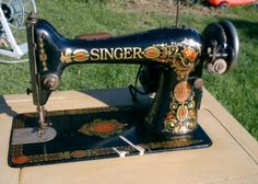 Singer 66 Red Eye