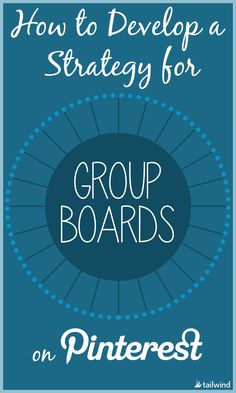 Developing a Strategy for Pinterest Group Boards