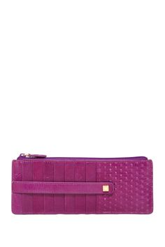 Cadiz Leather Credit Case with Zip Pocket by Lodis on @nordstrom_rack