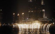 The Dubai Fountain- Burj Khalifa