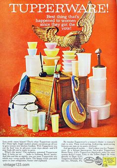Tupperware Ad, 1960