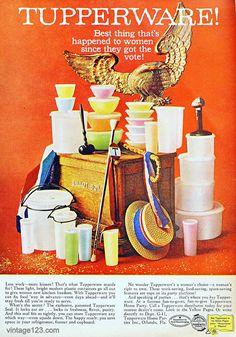 Tupperware Ad, 1960