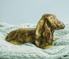Alfrédek: Mazaný jezevčík - keramika