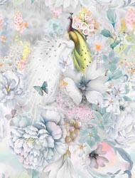 NEW! Peacock Walk - Floral Array - Pink Digiprint - per yard - RJR Fabrics - Digitally Printed - RJ2903-PI1D