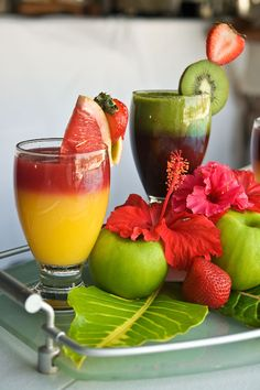 What's your favorite kind of juice? #OceanSpa