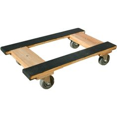 Monster Moving Supplies - Wood Piano H Dolly Rubber belting cover is glued & stapled to the wood supports Hardwood rails & headers Strong &