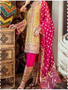 Pakistani Bridal Dresses, Indian Fashion, Dresses With Sleeves, Patterns, Long Sleeve, Block Prints, Sleeve Dresses, Long Dress Patterns, Gowns With Sleeves