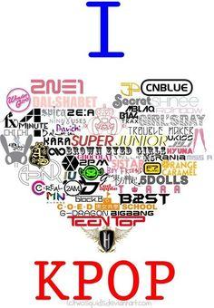 CNBlue, FT Island, SHINee, BAP, F(x), Big Bang, Block B....and there's more :) #kpop