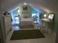 Attic Room. I would have loved this as a teenager!