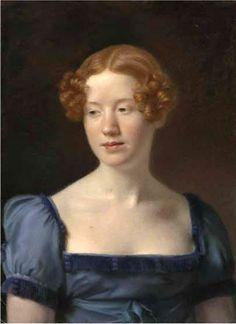 Portrait of Lady Pringle, née Emilia Anne MacLeod c.1815 by Archibald Skirving (Scottish 1749–1819)