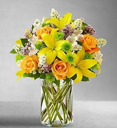 flower arrangements in tall square vases - Google Search