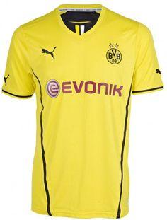 Borussia Dortmund 13-14 Home Shirt Maillot Dortmund 70c569b3b