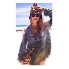 Beach boho chic in Tulum Mexico