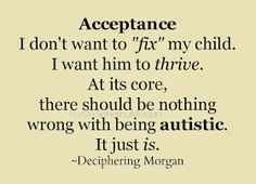 Deciphering Morgan on acceptance.