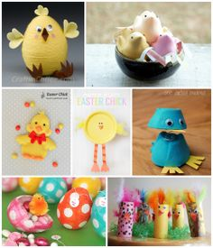 8 Chirpy Easter Chick Crafts