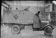 Armoured Tender 1922 Dublin Army Vehicles, Armored Vehicles, Dublin Street, Kingdom Of Great Britain, Republic Of Ireland, History, Weapon, Easter Rising, Irish Eyes