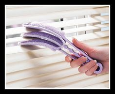 Buy the Venetian Blind Cleaner With FREE Refill From Kleeneze. Your online shop for Around the Home - Makes dusting blinds simple! Cleaning Dust, Cleaning Cloths, Window Cleaner, Cleaning Solutions, Household Items, Blinds, Venetian, Crafty, Shopping