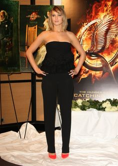 Jennifer Lawrence at 'The Hunger games : Catching fire' photocall - The 66th annual Cannes film festival  17.05.2013