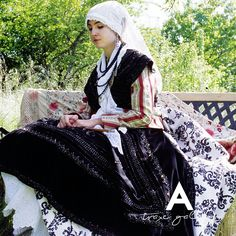 Folk Clothing, Folklore, Spain, Victorian, Embroidery, Tv, Inspiration, Dresses, Fashion