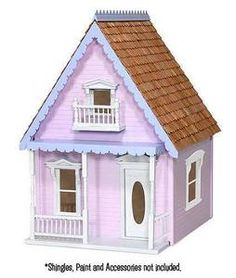 Search - Kotton Kandy Dollhouse Kit The House That Jack Built Dollhouse Kits, Wooden Dollhouse, Dollhouse Miniatures, Dollhouse Interiors, Cinderella Moments, Pink Houses, Kit Homes, Kandi, Architecture Details