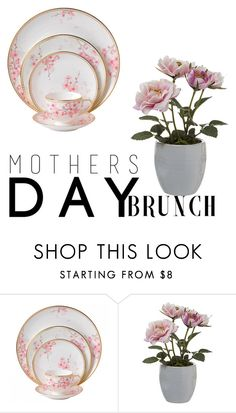 """""""Untitled #14"""" by searrastiles ❤ liked on Polyvore featuring interior, interiors, interior design, home, home decor, interior decorating, Wedgwood, Pavilion Broadway and MothersDayBrunch"""