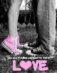 take kissing in converse pictures with my husband and then draw them and hang the up in are house