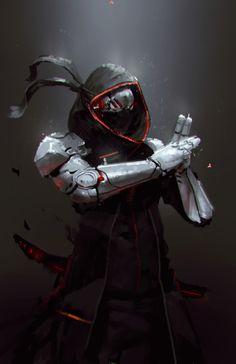 ArtStation - Robot Ninja, Jeff Chen
