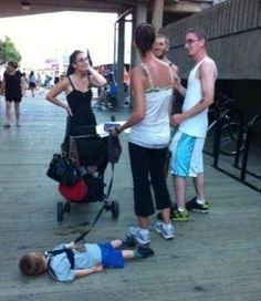 Parenting at its best!