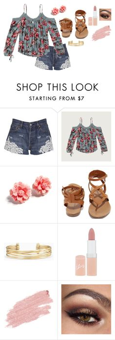 """""""Untitled #2001"""" by shoppingismycardio99 on Polyvore featuring Forte Couture, Abercrombie & Fitch, Tarina Tarantino, Breckelle's, Stella & Dot, Rimmel and Jane Iredale"""