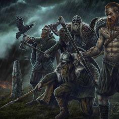 Viking Warrior, Viking Life, Viking Woman, Arte Viking, Viking Art, Viking Character, Character Art, Danish Vikings, Norse People