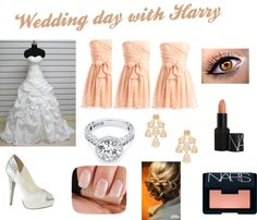 """wedding day with harry"" by hham12 ❤ liked on Polyvore"