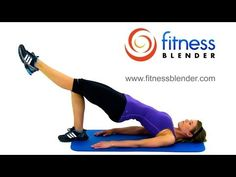 Tight & Toned Beach-Ready Body Workout - No equipment, 35 Minutes, 245-420 calories