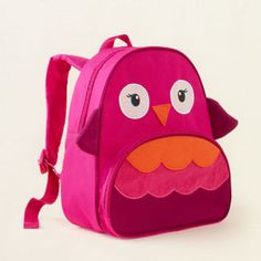 owl backpack- curer than the skiphop backpack & perfect for our upcoming trip!