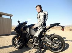 Richard Hammond and his bike