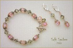 Click on image to see detail of bracelet and earrings