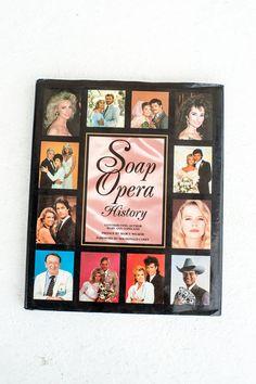 Soap Opera History Book Television History by NanooNanooNanoo