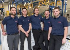 Fylde aircraft and defence company BAE Systems is showing off the products of its latest production line – apprentices.The former apprentices now running the hi-tech F35 production line