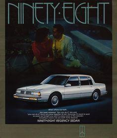 1987 Oldsmobile Ninety Regency Sedan
