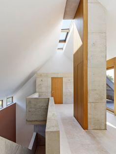 Beton, Kalk und Holz