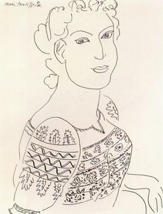 "Henri Matisse - ""The romanian blouse"""