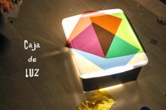 Caja de luz - experimentar con colores
