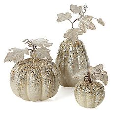 Beaded Pumpkins & Gourds   Objects-of-art   Decorative-accessories   Accessories   Decor   Z Gallerie