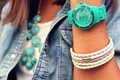 love tourquoise!