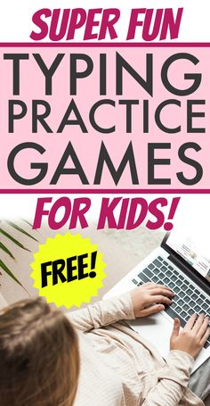 Need typing games for kids and easy free typing lessons learning? Here are 19 hacks to help kids learn to type! #typingforkids #typinggames #lessons