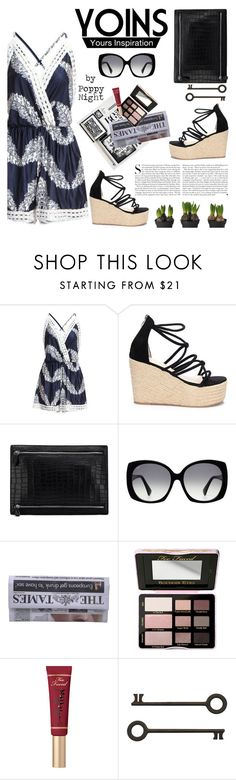 """Yoins #21"" by poppynight ❤ liked on Polyvore featuring Tod's, Kershaw, Too Faced Cosmetics, yoins, yoinscollection and loveyoins"