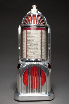 Art Deco Shyvers Multiphone Jukebox Selector - Incredible Skyscraper Design
