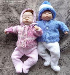 Emmy Doll Knitting Pattern : Baby knit patterns on Pinterest Knit Patterns, Baby ...