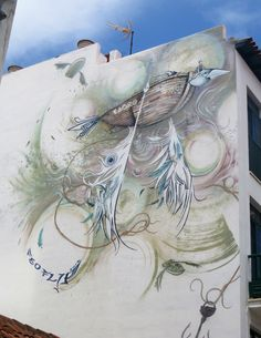 Tenerife: Superb Street Art Street Art, Culture, Artwork, Blog, Painting, Travel, Spain, Ships, Posts