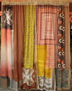 KASHMIR  Handmade Gypsy Curtains by BabylonSisters on Etsy