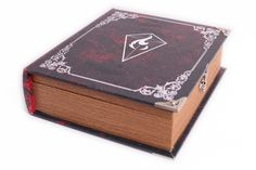 Amazon.com: Grimoire Deck Box, 3rd Edition | Wooden and Fabric Lined Deck Box for MTG, YuGiOh, and Other TCG: Toys & Games